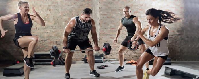 Træning til fitness og sport eller gymnastik